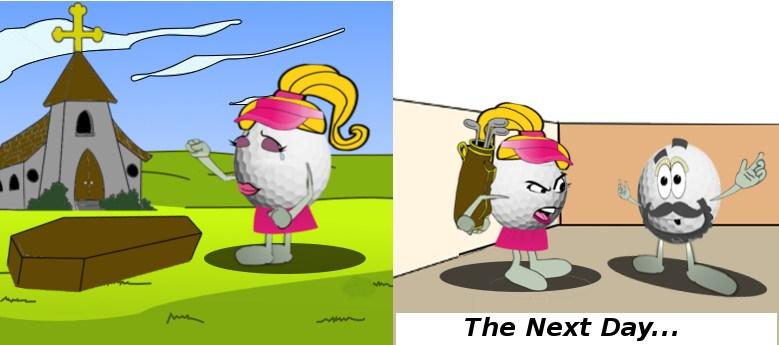 Till Golf Do Us Part Joke 2