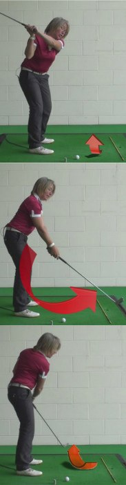 What Is A Golf Pull Slice Shot And How To Cure This Problem In A Ladies Golf Swing 1