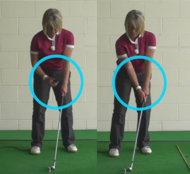 What Is The Correct Chipping Hands Position For Women Golfers When Playing Golf Chipping Shots 1