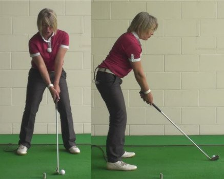 What Is The Correct Start Position And Swing For Long Iron Play Golf Tip For Women 1