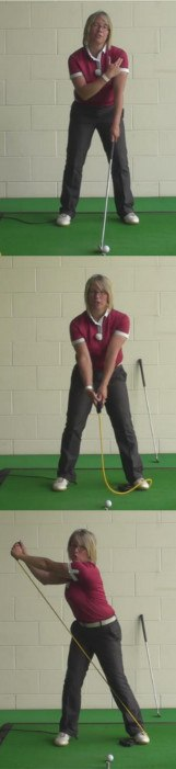 Why And How Ladies Should Keep Their Left Arm Straight, During Their Golf Swing 1