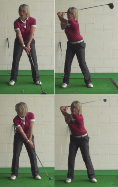 Why Do Women Golfers Use Different Swings For Drivers And Irons When Playing Golf Shots 1