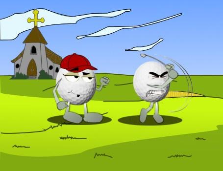 A Crime Against God Golf Joke 1