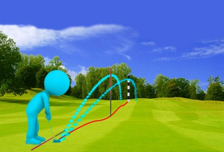 Alter Swing Path to Start Shots on Line