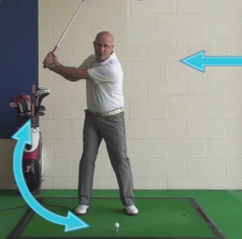 Backswing Length How Far Senior Golf Tip
