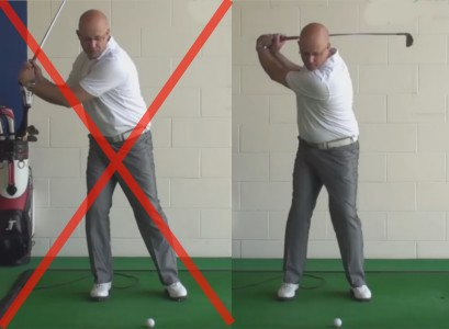 Better Ball Striking - Level Eyes - Senior Golf Tip 1