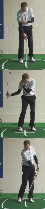 Compress the Ball with Right Arm Drill