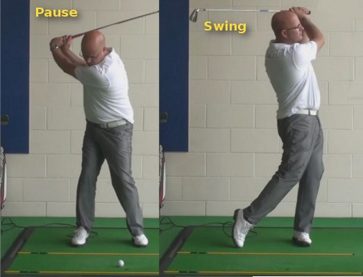 Consider The Benefits Of A Pause At The Top Of The Backswing - Senior Golf Tip 1