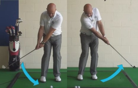 Correct Fat Or Thin Chip Shots - Senior Golf Tip 1