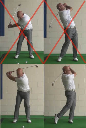 Correct Shot Height Problems - Why You Should Hit Down To Make The Ball Go Up - Senior Golf Tip 1