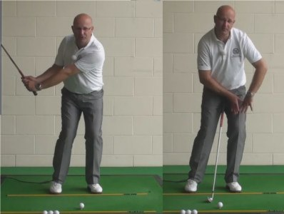 Correct Your Golf Pitch Shots With A Basic Wrist Hinge - Senior Golf Tip 1