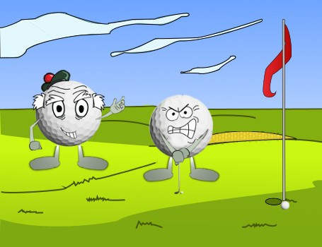 Don't Hold Your Breath Golf Joke 2