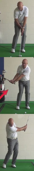 Fix Those Short Pitch Problems - Hinge The Wrists Early - Senior Golf Tip 1