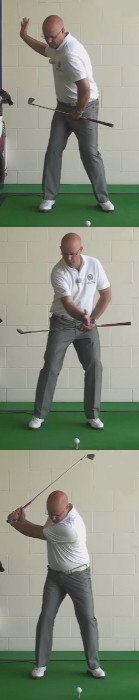 Gain More Power - Back Leg Position - Senior Golf Tip 1