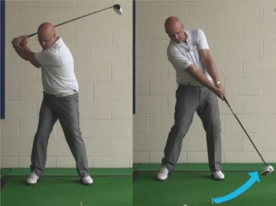 Get Longer Drives With Rising Club Head - Senior Golf Tip 1