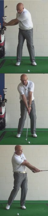 Hit Straighter - Club Face Square At Impact - Senior Golf Tip 1