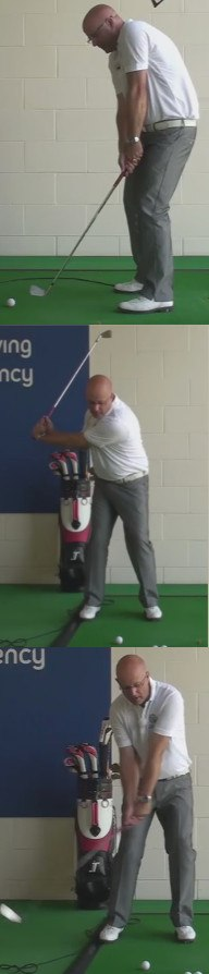 Hitting The Ball From The Toe - Swing Problem - Senior Golf Tip 1