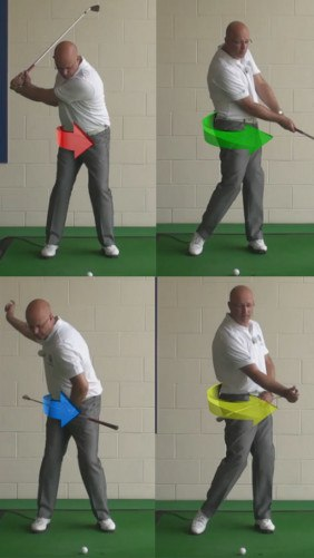 How To Clear Your Hips To Help With Accuracy And Distance - Senior Golf Tip 1