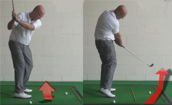 How To Create Inside To Outside Swing Path - Senior Golf Tip 1