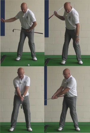 How To Create The Best Hip Turn - Senior Golf Tip 1