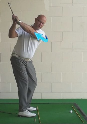 How To Fix A Golf Slice - A Full As Possible Shoulder Turn - Senior Golf Tip