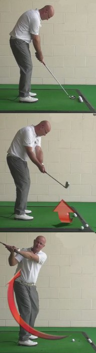 How To Fix - Laid Off At The Top Of The Swing - Senior Golf Tip 1