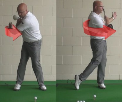 How To Get Longer Drives - Chest Turn Speed - Senior Golf Tip 1
