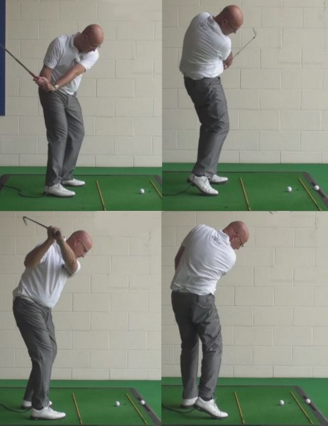 How To Hit A Fade And The Best Way To Learn How To Draw The Ball - Senior Golf Tip 1