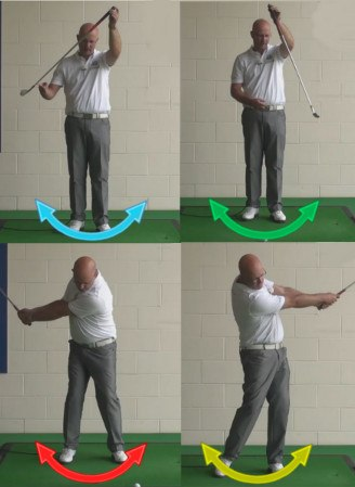 How To Stop Hooking - Correct Hand Speed - Senior Golf Tip 1