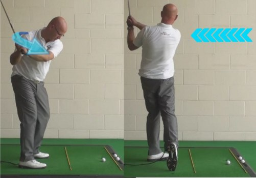 Increase Power - Set Up With The Shoulders Closed - Senior Golf Tip 1