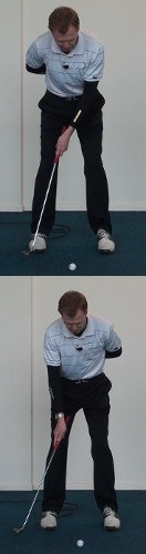 Practice Putting with Weaker Hand 1