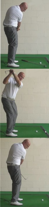 Practice Self Checking Your Swing To Help With Problems In The Middle Of A Round - Senior Golf Tip 1