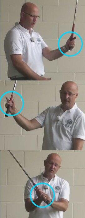 Proper Swing Use Of Your Fingers - Senior Golf Tip 1