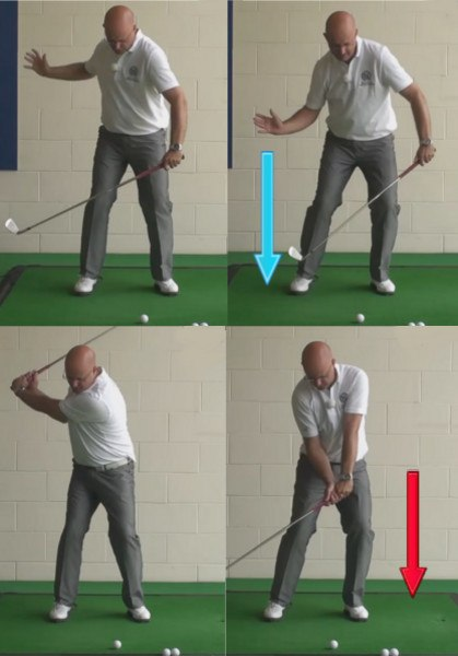 Reasons And Benefits - Golf Downswing Squat - Senior Golf Tip 1