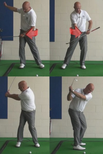 Stop Your Backswing Sway For More Power - Senior Golf Tip 1