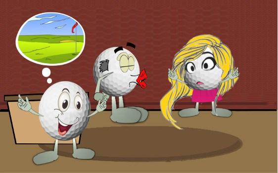The Big Kiss-Off Golf Joke 1