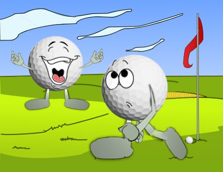 The Big Kiss-Off Golf Joke 2