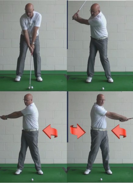 The Big Muscles Help To Create A Flawless Swing - Senior Golf Tip 1
