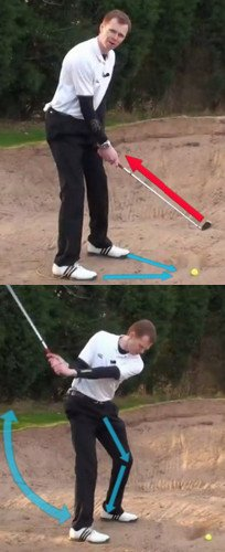 Use Fairway Swing to Escape Bunkers