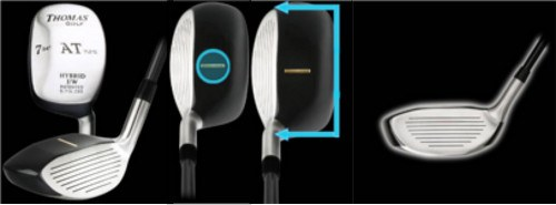 Which AT 725 Hybrids Replace Our Standard Irons and Fairway Woods