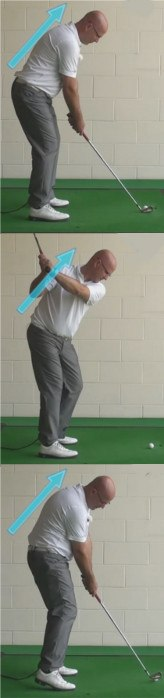 Why And How - Constant Forward Bend Through Impact - Senior Golf Tip 1