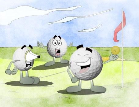 A Pro's Wisdom, Golf Joke 1