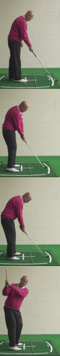 Correct Your Aim To The Target For Best Trajectory And Shot Shape, Senior Golf Tip