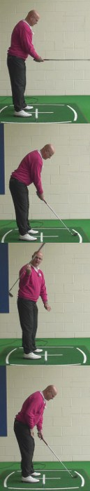 Correct Your Body Balance For Improved Swing Results, Senior Golf Tip