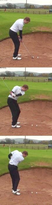Cure Your Golf Bunker Shot Shanks
