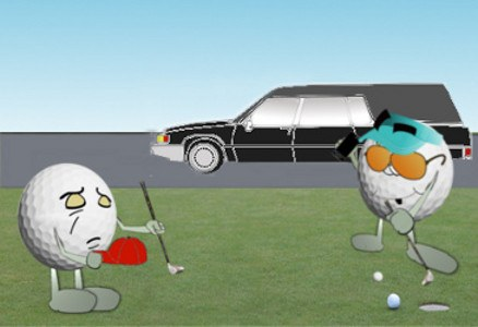 Funereal March, Golf Joke 1