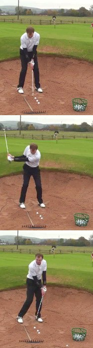 Golf Bunker Practice Drill, Never Hit Another Bunker Shot Fat With The Rake Drill