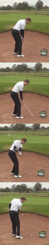 Golf Bunker Rules, No Touching The Sand Before The Shot