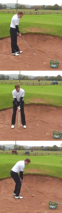 How Much Should I Open The Golf Club Face In A Bunker