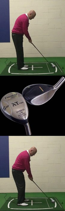 How To Aim The Head Of A Thomas Golf Senior Hybrid Club